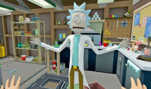 rick and morty VR